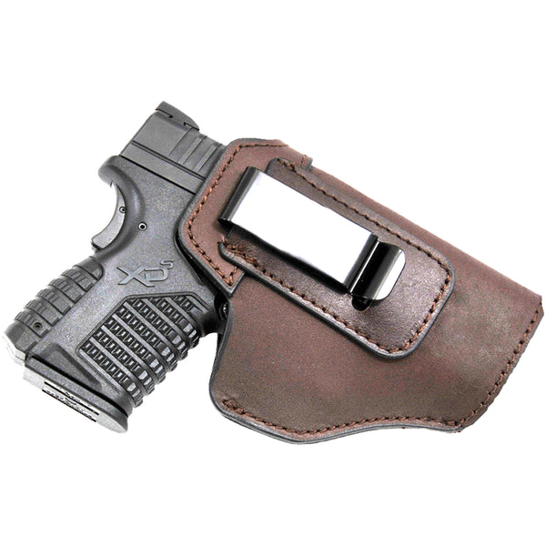 Brown Leather IWB Holster 5'' x 3 7/8''
