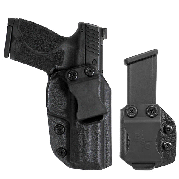 Smith & Wesson MP9, MP40 4.25'' IWB Kydex Holster & Mag Pouch Combo