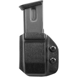 Universal OWB Double Stack Magazine Carrier 9mm, .40 S&W