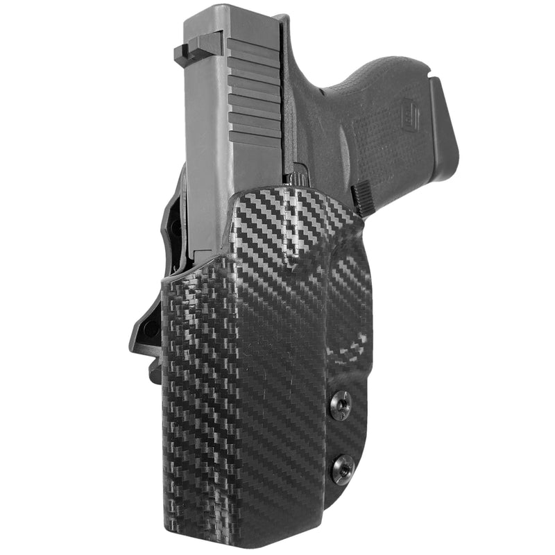 Glock 42, 43, 43X IWB Kydex Holster - Low Profile