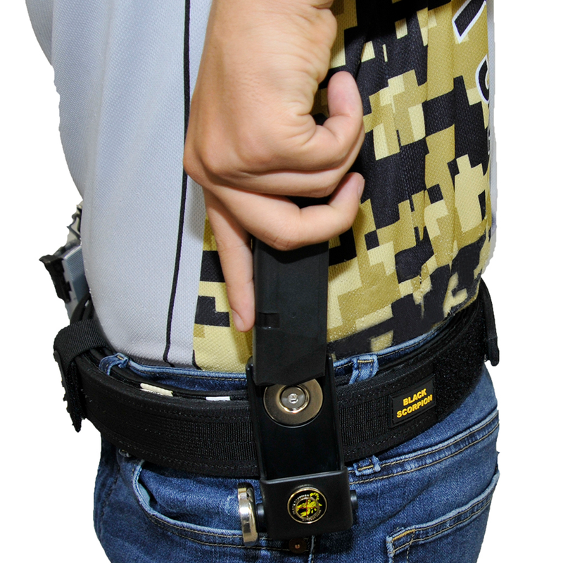 Single/Double Stack Competition Double Magnetic Magazine Pouch