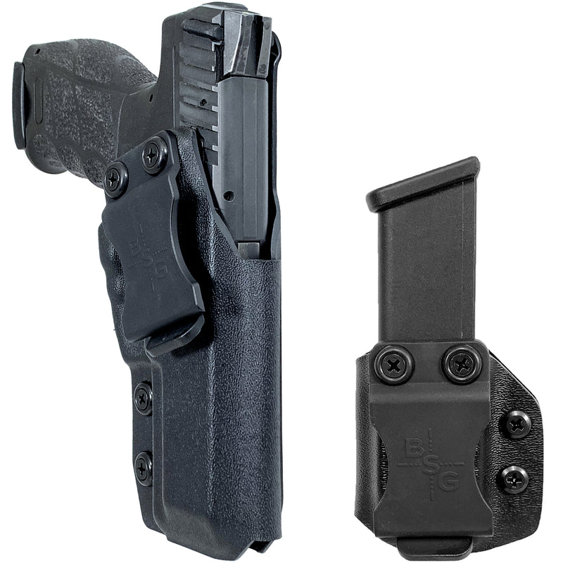 Heckler & Koch VP9 IWB Kydex Holster & Mag Pouch Combo