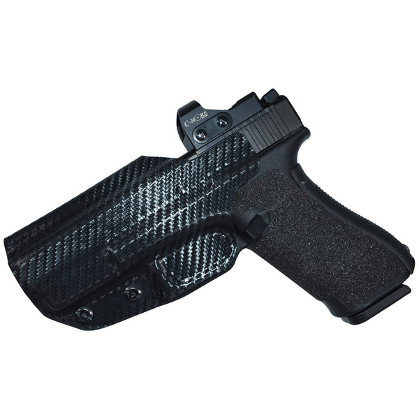 Glock 19, 19X, 23, 32 IWB Belt Wing Tuckable Holster