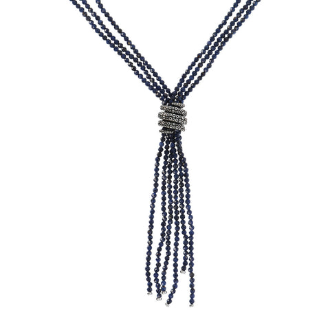 ACQUA MULTISTRAND STONE NECKLACE WITH OCTOPUS ELEMENT  - WSOX00361