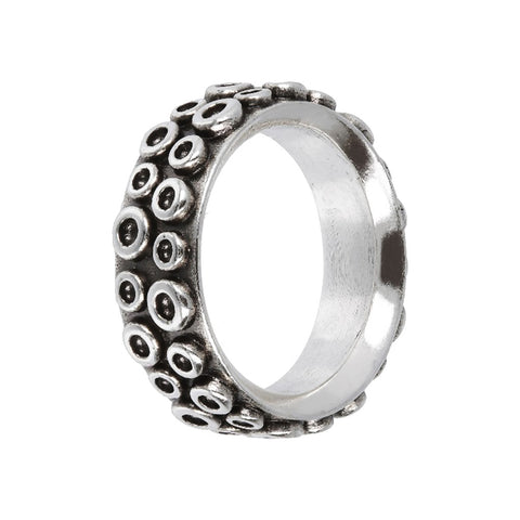 ACQUA OCTOPUS texture RING  - WSOX00354