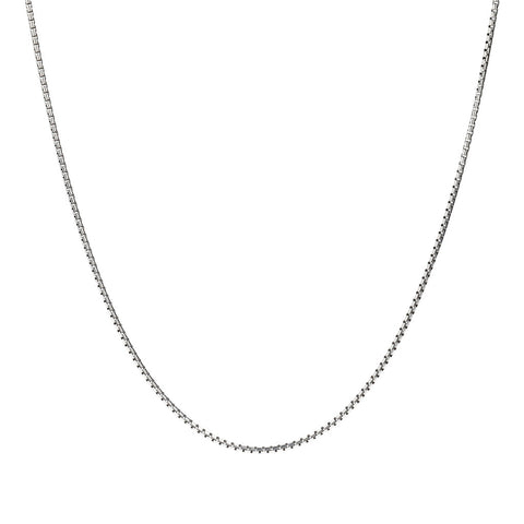 FUOCO MEN BOX ROUND CHAIN NECKLACE - WSOX00112