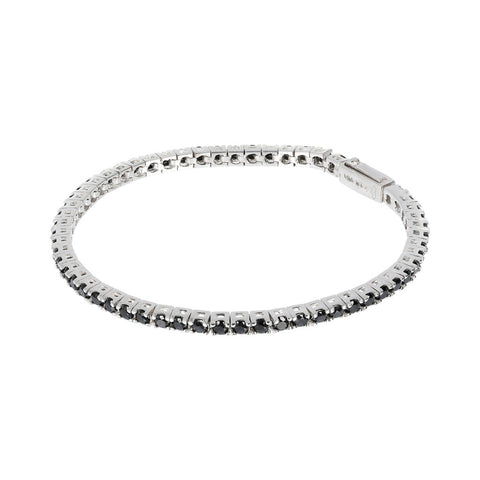 Men's Tennis Bracelet with Gemstones