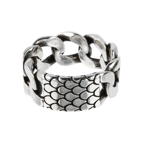 montatura del Mermaid Chain Ring