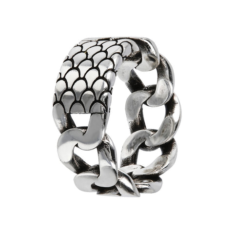 Mermaid Chain Ring