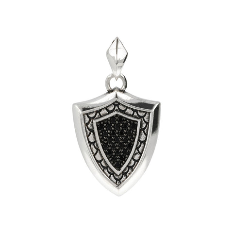 Mermaid Shield Pendant