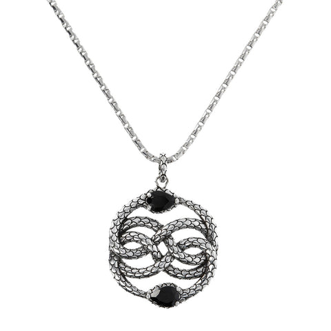 Pendente Mermaid con Dettaglio in Black Spinel