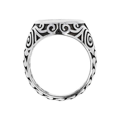montatura del Sterling Silver Seal Ring