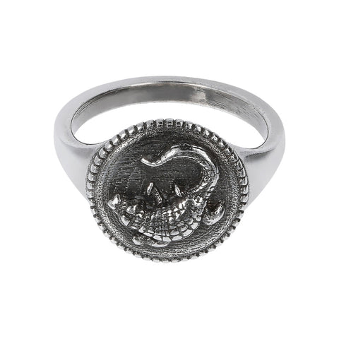montatura del TERRA shiny ring with snake  - COCCODRILLO  - WSOX00353