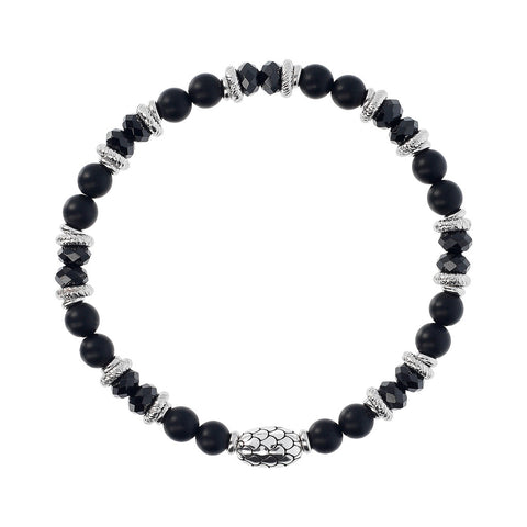 maglia del Black Spinel and Black Onyx Mermaid Bracelet