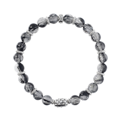 Ruthenium Stretch Mermaid Bracelet