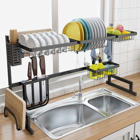 Image of Stainless steel drain rack
