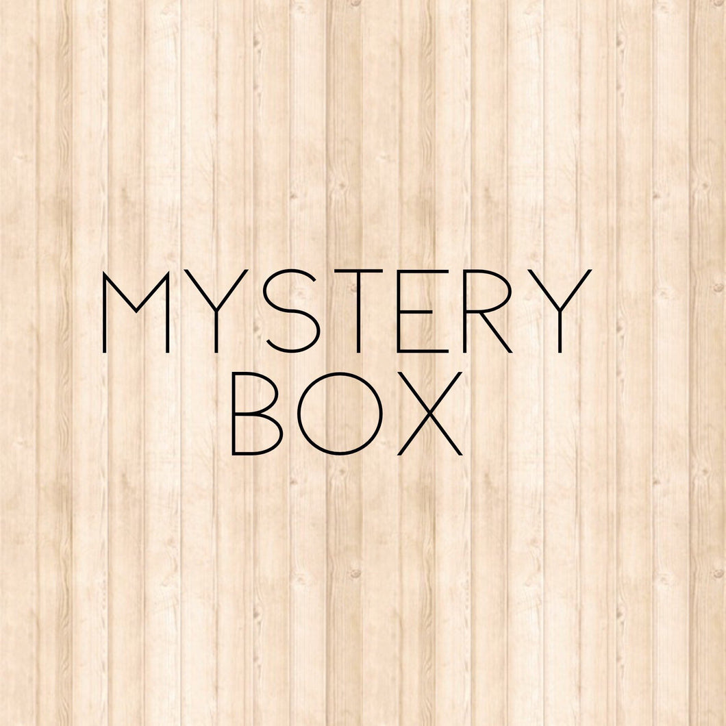 Mystery Box-1 yard cuts 100% Cotton