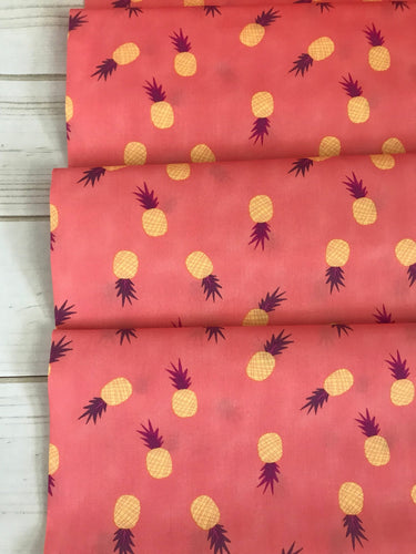 Ananas Sorbet ~ Sirena Collection by Jessica Swift for Art Gallery Fabrics 100% Cotton
