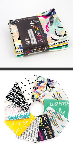Bundle Up Written ~Art Gallery Fabrics Curated Fat Quarter Bundle