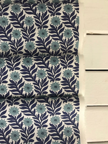 Sweet Marigold Blue ~Hesketh House Collection ~Liberty Fabrics 100% Cotton