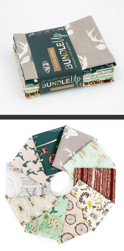 Bundled Up- Woods Edition ~Art Gallery Fabrics Curated Half Yard Box