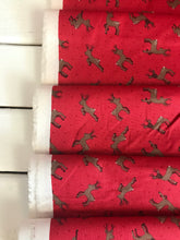 Deer Red ~ Small Things...Country Creatures~ Lewis & Irene 100% Cotton