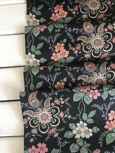 Fireside Pink/Green ~Hesketh House Collection ~Liberty Fabrics 100% Cotton