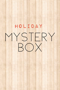 Holiday Edition: Mystery Box- Quarter Yard Cuts 100% Cotton