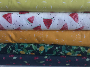 Citrus Tangerina ~ Floralish Collection by Katarina Roccella for Art Gallery Fabrics 100% Cotton