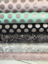 Glam Girl Dots Black Sparkle ~ Glam Girl Collection~ Dani Mogstad for Riley Blake Designs 100% Cotton