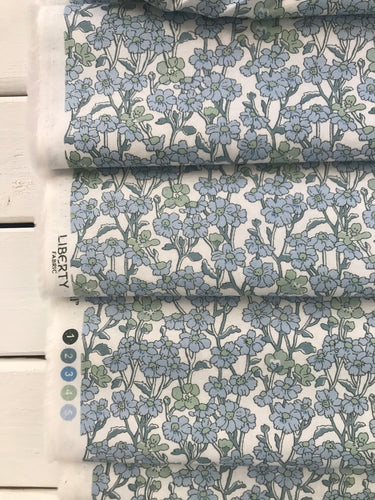 Chiltern Hill Blue ~Hesketh House Collection ~Liberty Fabrics 100% Cotton