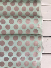 Glam Girl Dots Mint Sparkle ~ Glam Girl Collection~ Dani Mogstad for Riley Blake Designs 100% Cotton