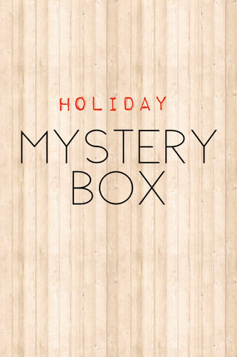 Holiday Edition: Mystery Box- Fat Quarters 100% Cotton