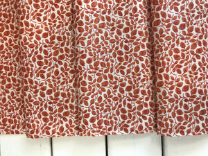 Cumbrian Vine Orange ~Hesketh House Collection ~Liberty Fabrics 100% Cotton
