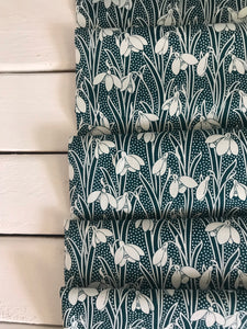 Hesketh Dark Green ~Hesketh House Collection ~Liberty Fabrics 100% Cotton