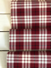 Plaid Red ~ Winterberry Collection ~ My Mind's Eye for Riley Blake Designs 100% Cotton