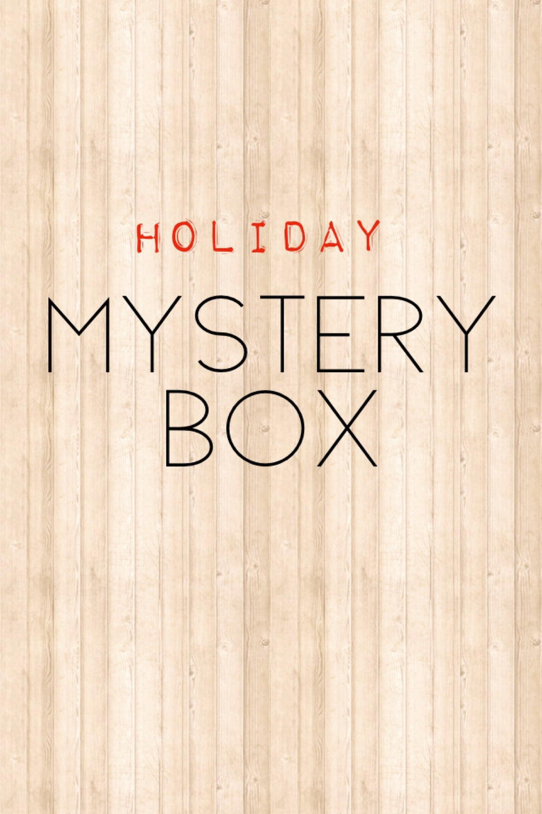 Holiday Edition: Mystery Box-1/2 yard cuts 100% Cotton
