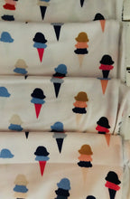 I Scream, You Scream District KNIT ~ Art District Fusion Collection ~ Dana Willard for Art Gallery Fabrics