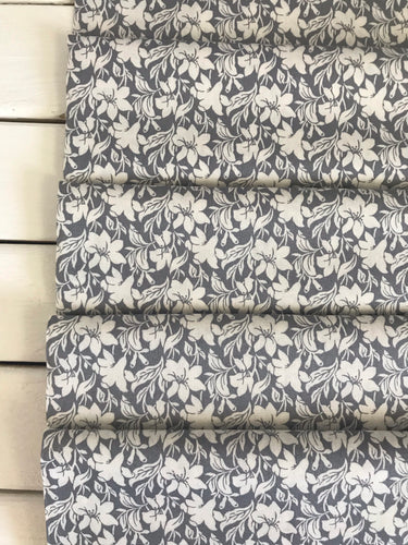 Day Lily Grey ~Hesketh House Collection ~Liberty Fabrics 100% Cotton