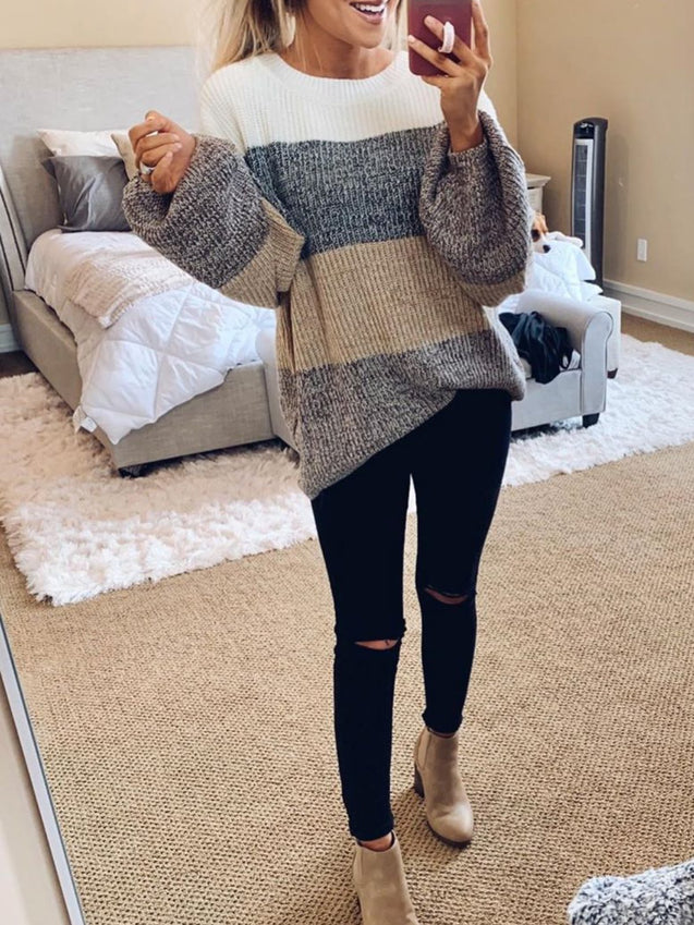 CasualTunic Oversize Loose Sweater