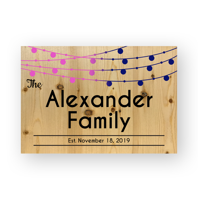 Personalized Engraved Repurposed Wood Wedding Keepsake | Venue Wedding Keepsake Heirloom