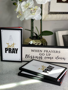 """Just Pray"" Mug and Journal Bundle"