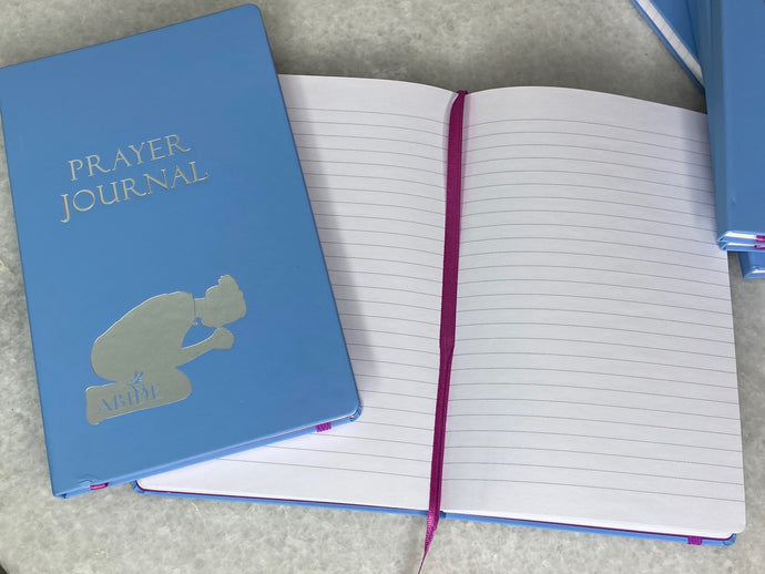 ABIDE Prayer Journal - Faux Leather