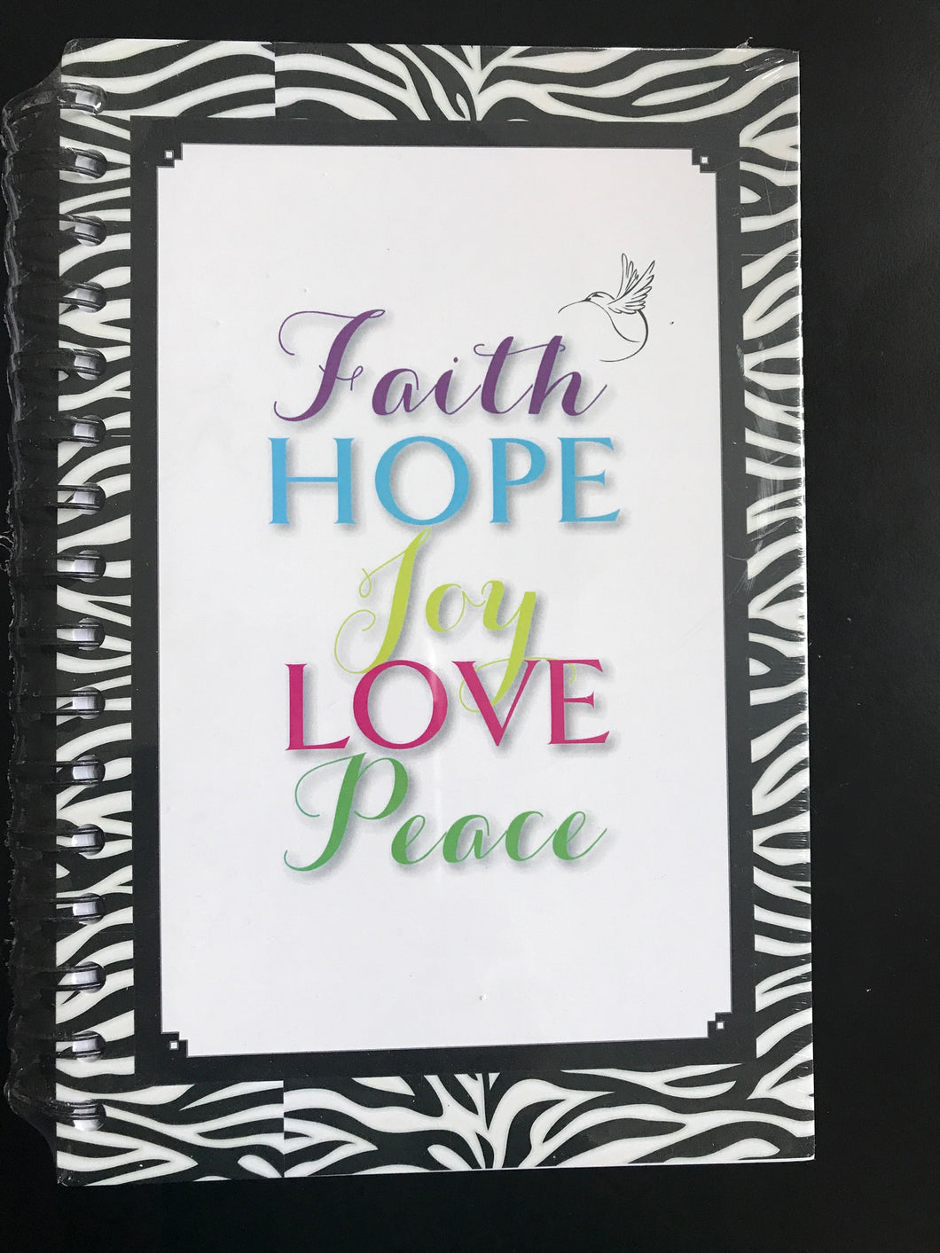 ABIDE Journal - FAITH, HOPE, JOY, LOVE, PEACE