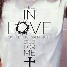 Load image into Gallery viewer, In Love with Jesus Shirts * Faith * Grateful