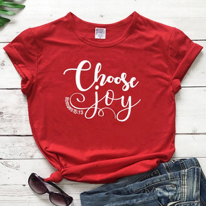 Choose Joy Tee - Romans 15:13