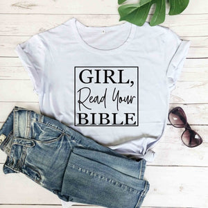 2020 Girl Read your Bible Tee