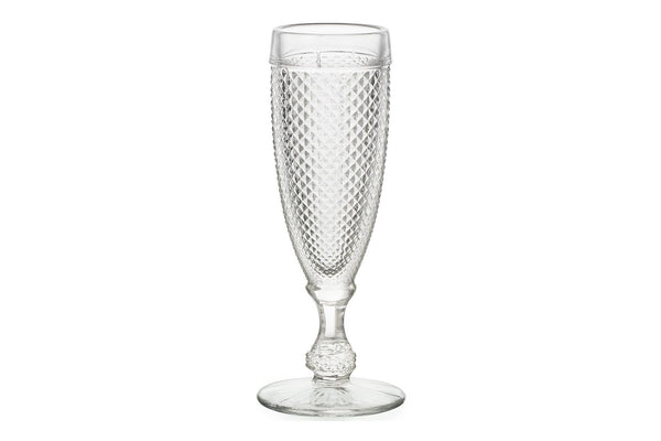 Bicos - Champagne Flutes (Set of 4) - Clear