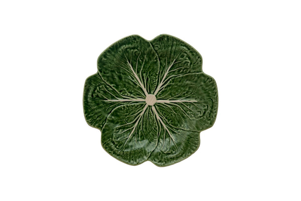 Cabbage Dinner Plate - Green