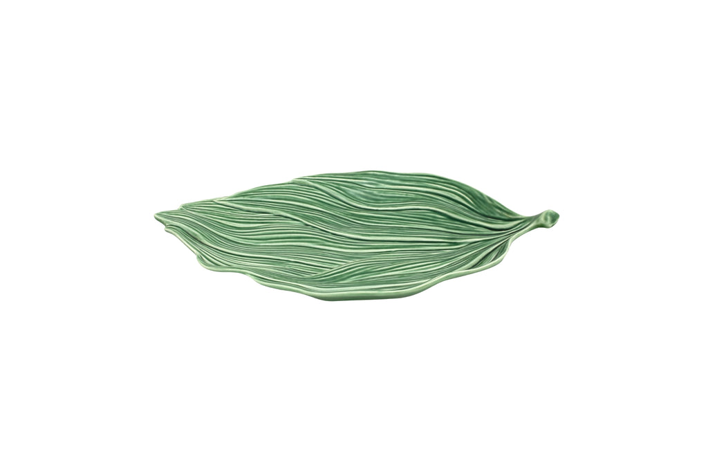 Leaves Leaf Platter - Medium - Green